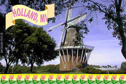 All images Copyright © 1997 - 2000 WriteLine. All Rights Reserved. Windmill, Holland MI