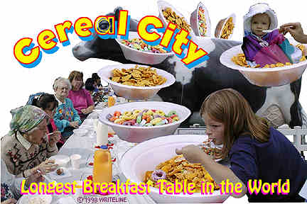 All images Copyright © 1997 - 2000 WriteLine. All Rights Reserved. Cereal for Breakfast