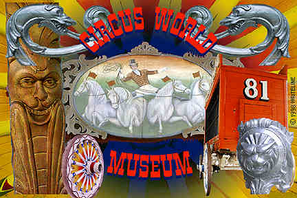 All images Copyright © 1997 - 2000 WriteLine. All Rights Reserved. Circus World Museum