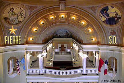 All images Copyright © 1997 - 2000 WriteLine. All Rights Reserved. South Dakota Capitol