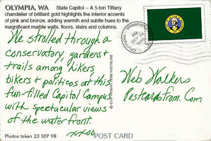 All images Copyright © 1997 - 2000 WriteLine. All Rights Reserved. Washington State flag stamp