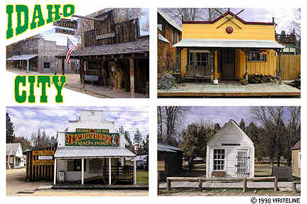 All images Copyright © 1997 - 2000 WriteLine. All Rights Reserved. historic western town