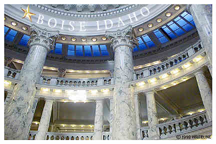 All images Copyright © 1997 - 2000 WriteLine. All Rights Reserved. marble columns of rotunda
