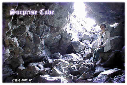 All images Copyright © 1997 - 2000 WriteLine. All Rights Reserved. Surprise Cave