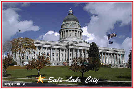 All images Copyright © 1997 - 2000 WriteLine. All Rights Reserved. Utah capitol