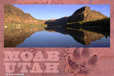 All images Copyright © 1997 - 2000 WriteLine. All Rights Reserved. Moab UT Mountain lion track