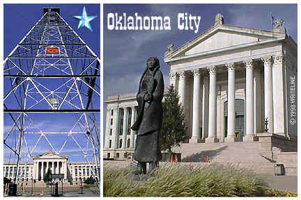 All images Copyright © 1997 - 2000 WriteLine. All Rights Reserved. Oil Derrick and Capitol