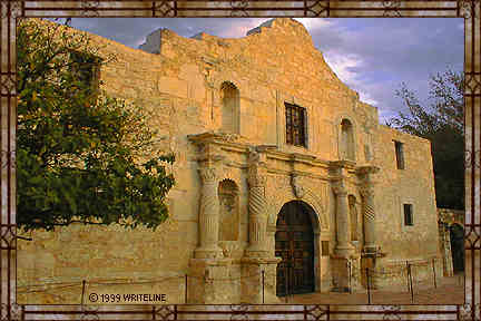 All images Copyright © 1997 - 2000 WriteLine. All Rights Reserved. Spanish Mission, American Fort
