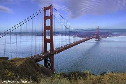 All images Copyright © 1997 - 2000 WriteLine. All Rights Reserved. Golden Gate Bridge