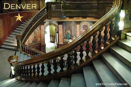 Denver Colorado Capitol Grand Staircase