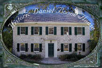 All images Copyright © 1997 - 2000 WriteLine. All Rights Reserved. Daniel Boone's Home