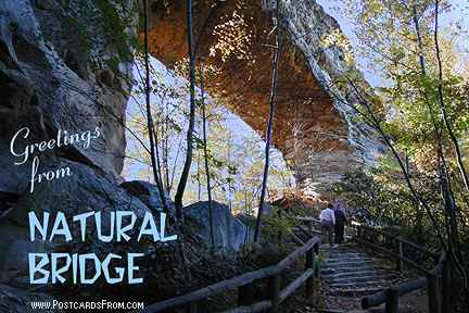 All images Copyright © 1997 - 2000 WriteLine. All Rights Reserved. Natural Bridge