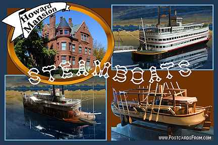 All images Copyright © 1997 - 2000 WriteLine. All Rights Reserved. Steamship Museum